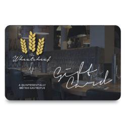 Wheatsheaf Sandbach Gift Card